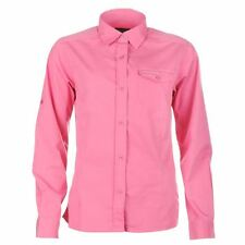 CRAGHOPPERS Womens Hot Pink Kiwi Long Sleeved Shirt UPF 40+ UK 12 BNWT