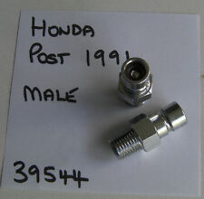 "HONDA OUTBOARD 1991 & UP, FUEL LINE, PAT 39544 TANK MALE FITTING 1/4"" NPT THREAD"