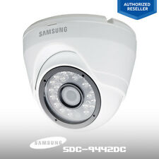 Samsung SDC-9442DC 1080p FHD Security System Surveillance Outdoor Dome Camera