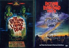 RETURN OF THE LIVING DEAD 1-2-3-4-5: Necropolis- Rave to Grave+ More- NEW 4 DVD