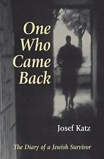 One Who Came Back: The Diary of a Jewish Survivor-ExLibrary