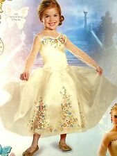 Cinderella Dress Deluxe Costume by Disguise BNIP Size 4-6X SUPER CUTE!!