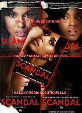 Scandal Season One-Five 1-5 DVD Bundle (2012-1016 18-Disc) 1 2 3 4 5 New Sealed