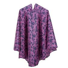 totes Fabric Poncho With Separate Pocket Navy Ditsy Floral Print