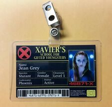 X men ID Badge -  Xavier's School Jean Grey Phoenix cosplay prop costume