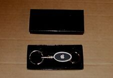 Apple Computer Logo Oval Valet Keychain - NEW in the Box