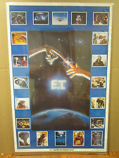Vintage E.T. The Extra-Terrestrial 1982 movie poster 1599