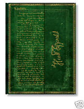 Paperblanks Writing Journal Lined Green Fitzgerald Great Gatsby  Ultra Size 7x9
