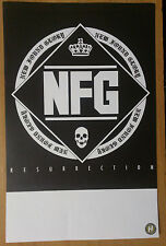 Music Poster Promo New Found Glory ~ Resurrection