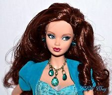 Birthstone Beauties Miss Turquoise December Steffi Model Muse Barbie Doll