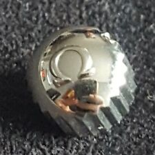 Omega Screw Down Crown with Silver Colour Tension Ring, Part Number 42062