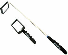 Telescopic Inspection Mirror with 2 LED lights By Bergen 6671 Garages Etc