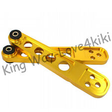 Gold Rear Lower Control Arm LCA For Civic 01-05/SI 02-05 DX/LX/EX/SI EM EP3 Pair