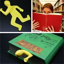 Bookmark 'Dead Mark' Squashed Flat Book Mark Silicon Rubber Study Goods NB