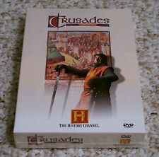 NEW Crusades (DVD, 2002, 2-Disc Set) The History Channel Terry Jones - Sealed