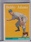 1958 TOPPS #99 BOBBY ADAMS CHICAGO CUBS