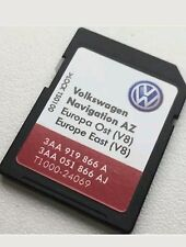 Carte SD GPS Europe Est 2016 V8 - RNS 315 (SD CARD East Europe)