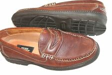 Hush Puppies Size 10 M Penny Loafer Brown Shoes