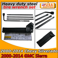 For Chevy GMC Silverado Sierra Tahoe Yukon Spare Tire Tool Kit with Carry Case