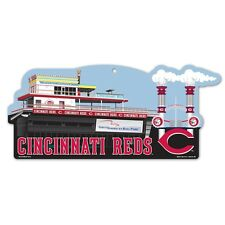 CINCINNATI REDS PILOT HOUSE GREAT AMERICAN BALL PARK ICONIC WOOD SIGN WINCRAFT