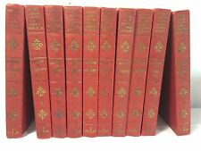 Set of 10 Volumes Pocket Library of the World's Essential Knowledge 1929