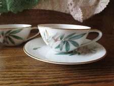 2  Noritake Canton Bamboo Cups and saucers
