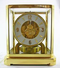 Jaeger LeCoultre Atmos 528-8 Mantle Clock Cleaned Serviced Timed Ser# 215310