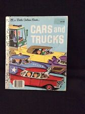 A LITTLE GOLDEN BOOK-CARS AND TRUCKS-210-88-1976 Commemerative Edition