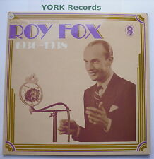 ROY FOX & HIS ORCHESTRA - 1936-1938 - Ex Con Double LP Record World SHB 33