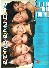REMBRANDTS / Friends  lyrics magazine PHOTO/Poster/clipping 11x8 inches