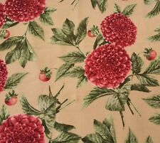 From the Garden by Edelin Wille Marcus Brothers BTY Mums Floral Flower Beige