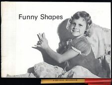 FUNNY SHAPES Make animal SHADOWS on the WALL 14 pg Children's Book GC