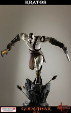 GOD OF WAR ASCENSION LUNGING FIGURE STATUE STATUA 48 CM KRATOS BLADE OF CHAOS #2