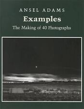Examples Ansel Adams The Making of 40 Photographs Large Softcover