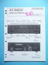 Service Manual-Anleitung für Kenwood KX-W8040 ,ORIGINAL