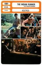FICHE CINEMA : THE INDIAN RUNNER - Morse,Mortensen,Golino,Penn 1991