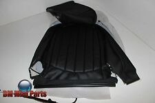 MINI R61 COUNTRYMAN FRONT RIGHT SEAT BACK BLACK 'LOUNGE' LEATHER 52109806616