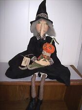 """""""Marleigh"""" Witch - Soft Figure designed by Joe Spencer for Gallerie II"""