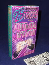 25 TRICKS WITH A SCOTCH AND SODA DIME AND PENNY VHS TAPE MAGIC