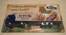 Mini-Truck Tucher Edition Nürnberger Christkindlesmarkt-Bier 2014