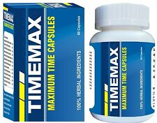 Timemax (60 Capsules) Last Longer in Bed, Sex Time, Aphrodisiac, Good Time Max