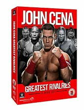 JOHN CENA Greatest Rivalries BOX 3DVD in Lingua Inglese NEW .cp