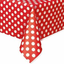 Minnie, Mickey Polka Dots Table Covers Birthday Wedding Baby Party Supply U Pick