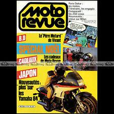 MOTO REVUE N°2633 KTM 240 MX HUSQVARNA CR HONDA 250 KAWASAKI KX PARIS-DAKAR 1984