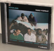 AudioQuest CD AQCD-1010: Victor LEWIS - Family Portrait - USA 1992 Factory SS