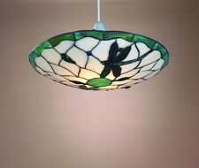 Green Dragonfly Tiffany Uplighter Ceiling Light Pendant Shade PM5004