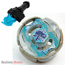 Fusion METAL Beyblade Masters V.5 BB-82 T125RS+BLUE STRING LAUNCHER+GRIP