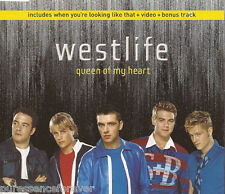 WESTLIFE - Queen Of My Heart (UK 4 Tk Enh CD Single Pt 1)