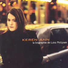 KEREN ANN La Biographie de Luka Philipsen (CD 2000) 13 Songs France French