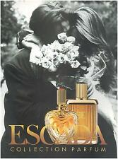 ▬► PUBLICITE ADVERTISING AD Parfum Perfume ESCADA Collection parfum 1994